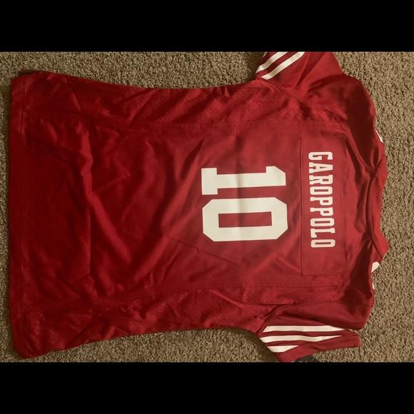 new arrival 88674 06315 49ers Women's Jimmy Garoppolo Jersey Nike OnField NWT